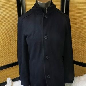 London Fog Wool Coat  	Size S